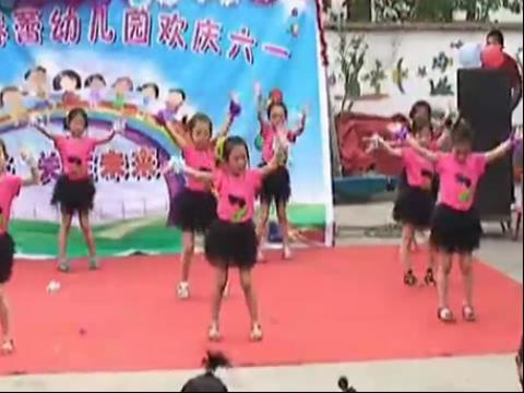 儿童舞蹈 火花 六一儿童节舞蹈视频