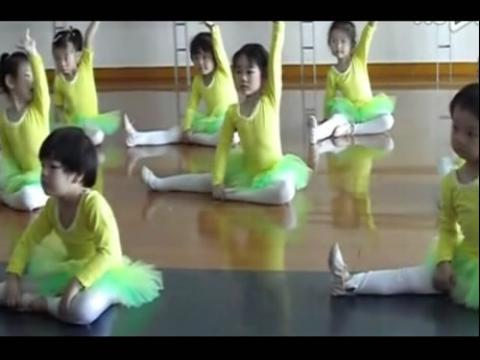 幼儿舞蹈视频 公开课 基本功教学