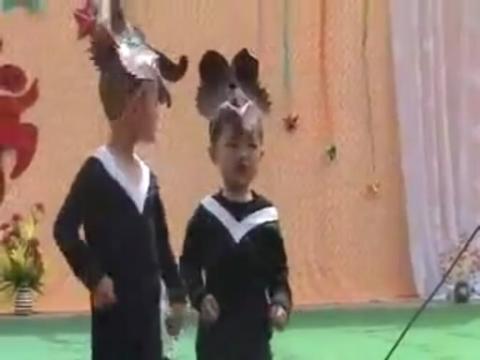 《大灰狼小白兔小精灵幼儿园舞蹈教学视频