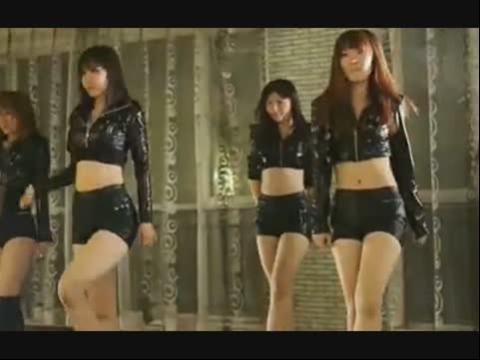韩国高跟美女美腿图片热辣姊妹花酒吧激情热舞极品