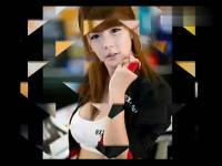 视频添加到我的频道 经典dj舞曲韩国美女车模李智友