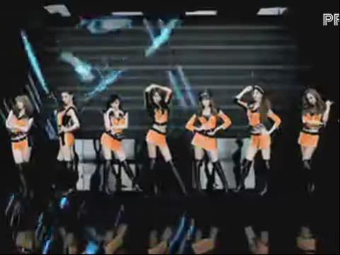 【mv】少女时代 打歌服换色版:mrtaxi高清版