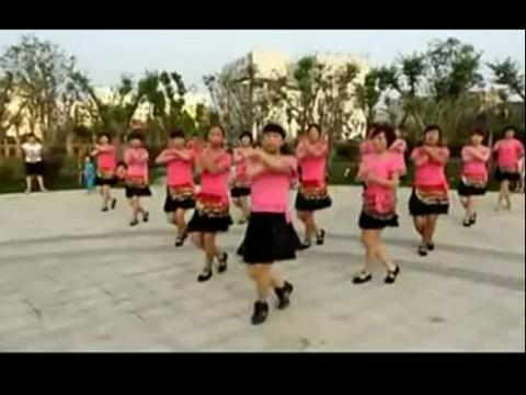 2014广场舞 印度美女