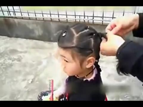 2岁儿童扎头发简单好看