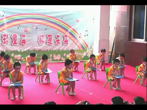 幼儿园舞蹈《唐诗新唱》最美舞蹈