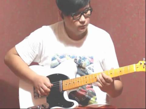 电吉他演奏 风吹麦浪