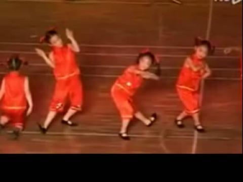 儿童舞蹈 儿童舞蹈表演视频《三字经》