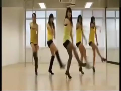 现代舞蹈教学视频分解慢动作现代舞美少女