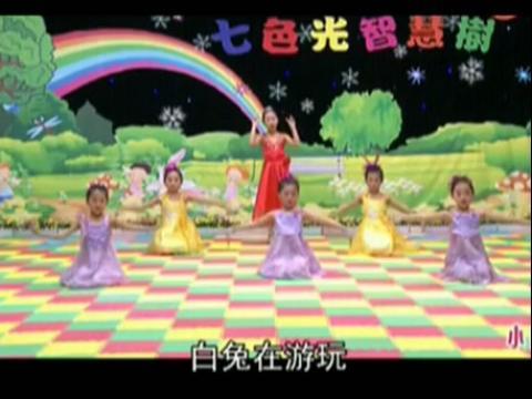 幼儿园舞蹈《小白船》儿童舞蹈视频